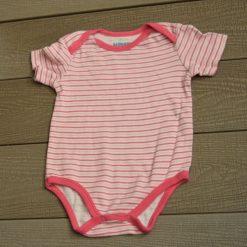 Cache- couche rayé rose Monkey fille bébé