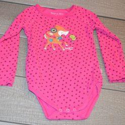 Cache- couche renne rose fille bébé