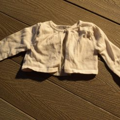 Cardigan blanc fille bébé 205