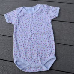 Cache- couche blanc pico fille bébé