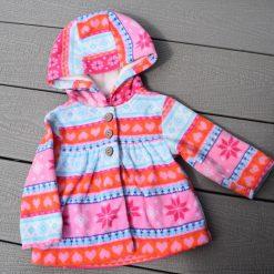 Veste coloré bébé fille