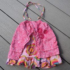 Robe coloré été bébé fille