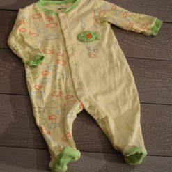 Pyjama jaune poisson Pekkle bébé garçon