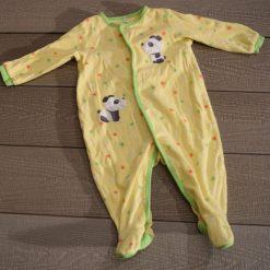 Pyjama jaune panda Pekkle bébé garçon