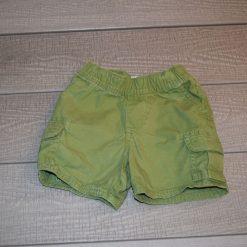 Short vert garçon enfant