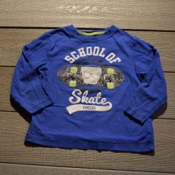 Chandail skate bleu garçon enfant