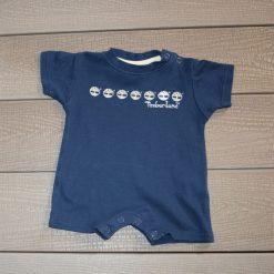 Combinaison Timber bleu bébé garçon