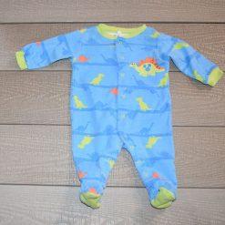 Pyjama bleu Dinosaure Pekkle bébé garçon