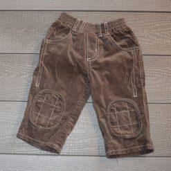 Pantalon velours brun bébé garçon