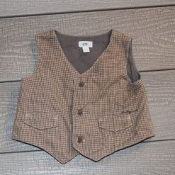 Veste brune bébé garçon