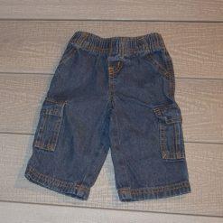 Pantalon jean cargo bébé garçon