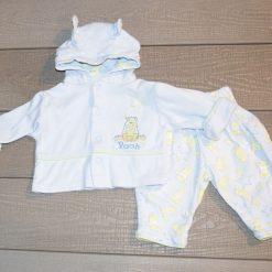Ensemble bleu Winnie bébé garçon
