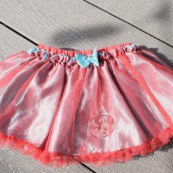 Jupe Minnie bleu rose bébé fille