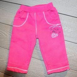 Pantalon rose bébé fille