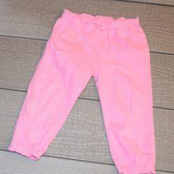Pantalon droit rose bébé fille