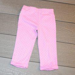 Pantalon pois rose bébé fille