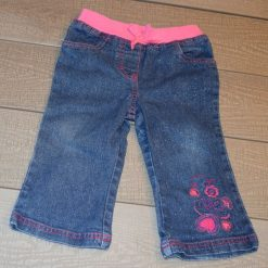 Pantalon jean bleu fille bébé