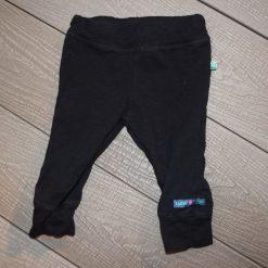 Pantalon noir droit bébé fille