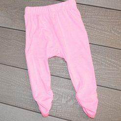 Pantalon rose pâle fille bébé