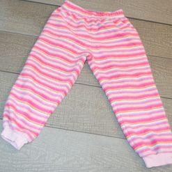 Pyjama rose rayé fille enfant