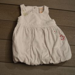 Robe blanc fille bébé