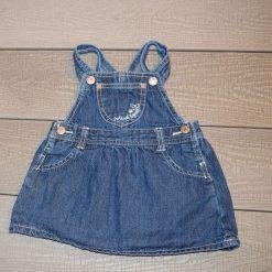 Salopette jean jupe Oshkosh fille bébé