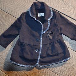Veste ajusté marine fille bébé