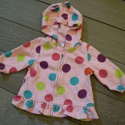Veste capuchon pico coloré fille bébé