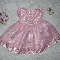 Robe rose enfant fille