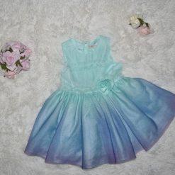 Robe bleu fille enfant