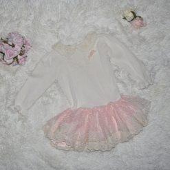 Robe d'occasion blanche enfant