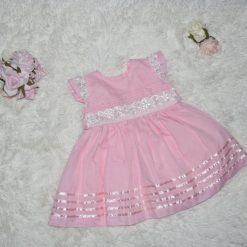 Robe rose d'occasion enfant