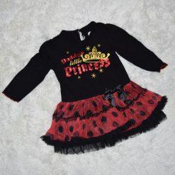 Robe princesse noir enfant
