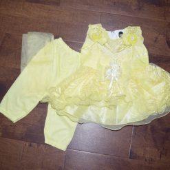 Robe d'occasion enfant jaune