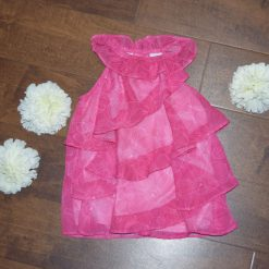Robe rose été enfant