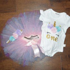 Robe premier anniversaire bébé