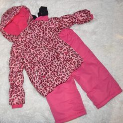 habit de neige rose fille enfant