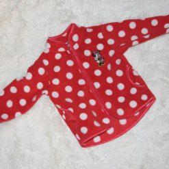 Veste Minnie rouge fille enfant