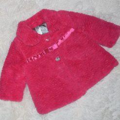 Manteau rose fille enfant