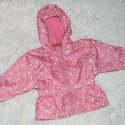 Veste coupe vent rose fille enfant