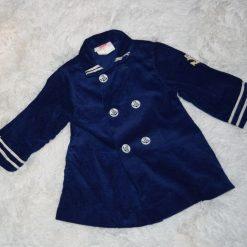 Veste bleu marine marin fille enfant