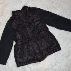 Veste noir fille enfant