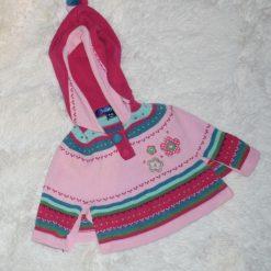 Pancho rose enfant fille