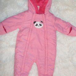 habit de neige rose panda bébé fille