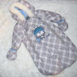 Housse de coquille gris garçon bébé