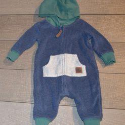Combinaison bleu vert doux bébé garçon