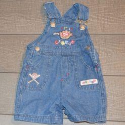 Salopette jean baseball bébé garçon