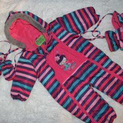 Habit de neige coloré fille bébé