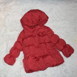 Veste rouge fille enfant