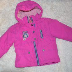 Manteau hiver fille enfant rose